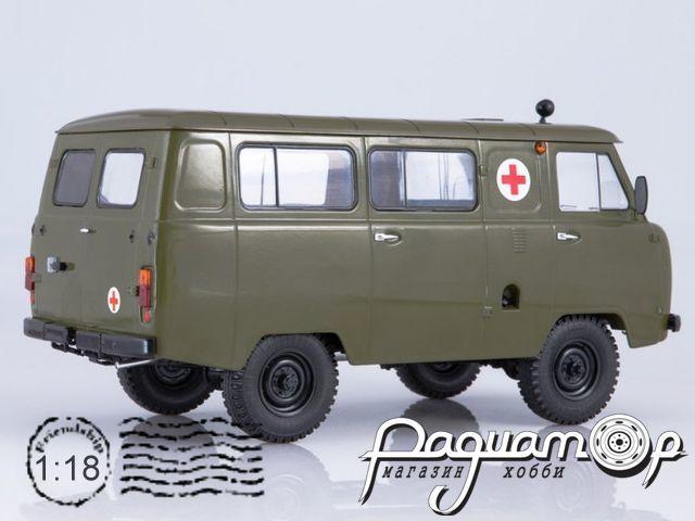 УАЗ-452А санитарный (1985) SSM2006