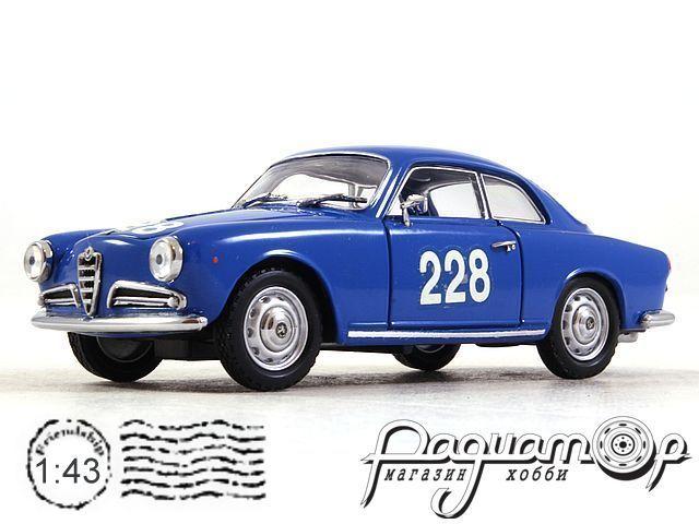 Alfa Romeo Giulietta Sprint, 1000 Miglia (1960) 366 (TI)