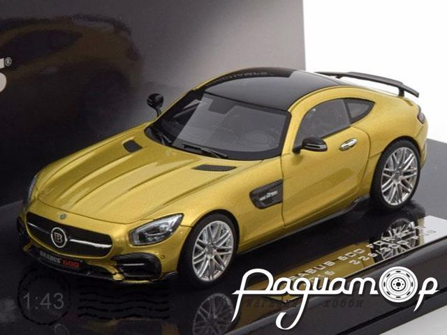 Mercedes Brabus 600 For GT S (2016) 437032522