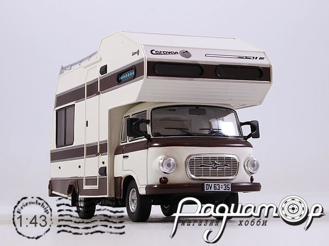 Barkas B1000 Wohnmobil (1973) IST297MR