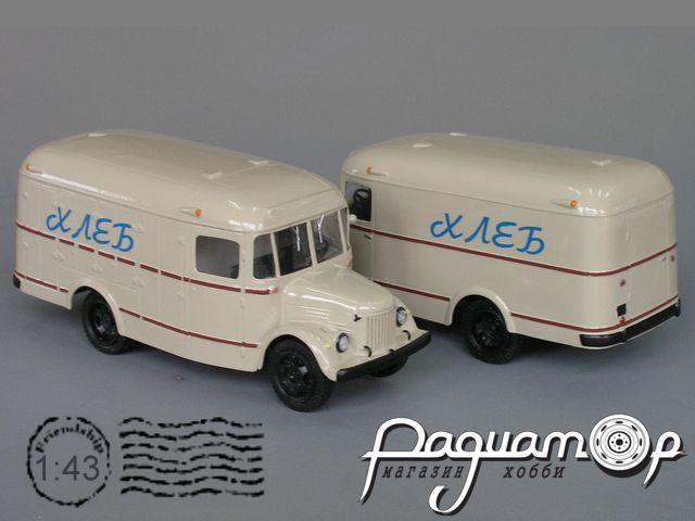 Сборная модель ПАЗ-657 фургон K4-13