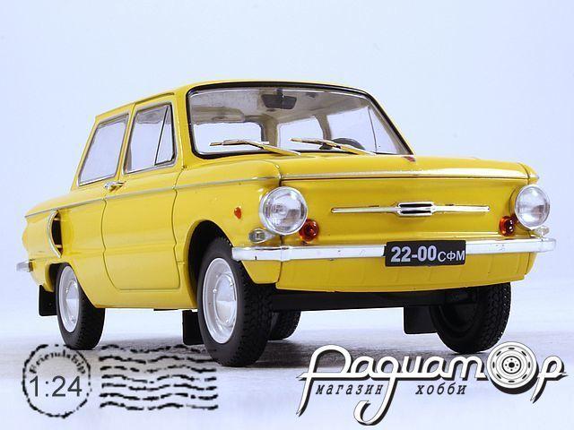 Легендарные советские автомобили №37, ЗАЗ-968А «Запорожец» (1973)