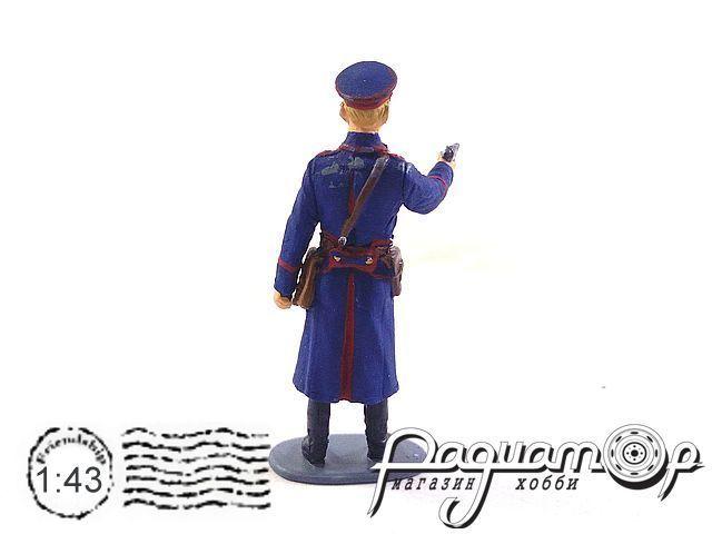 Милиционер с пистолетом AU127