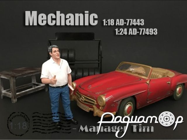 Фигурка Mechanic Manager Tim AD77443