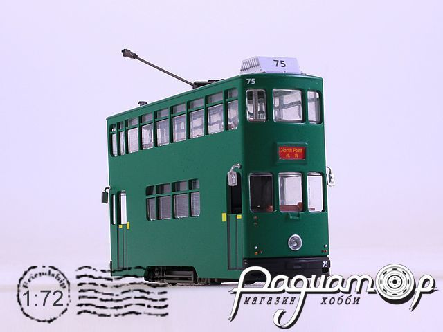 6th Generation Hong Kong Tram (1986) BUS4648104