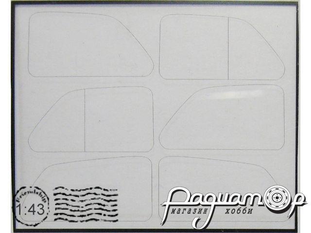Набор для ГАЗ-М20 Победа (DeAGOSTINI) никелирование EM-087