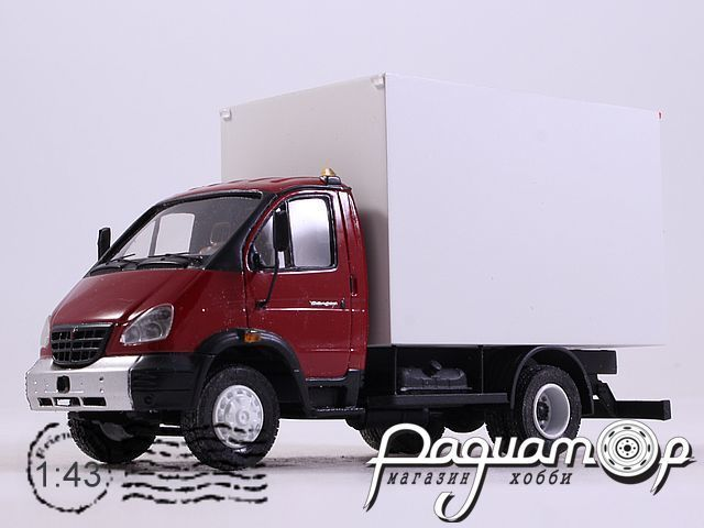 ГАЗ-3310 «Валдай» фургон (2003) NIK190643