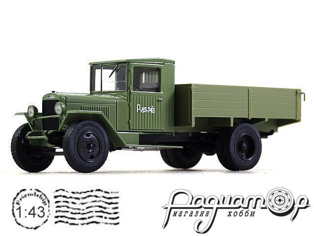 Автолегенды СССР Грузовики №53, ЗИС-5В (1942)