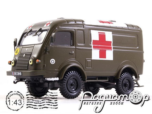 Renault R2087 Red Cross (1950) MIL11C01