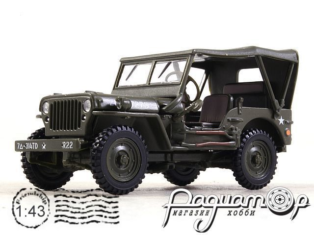 Jeep CJ-5 soft top US Army (1944) 91860