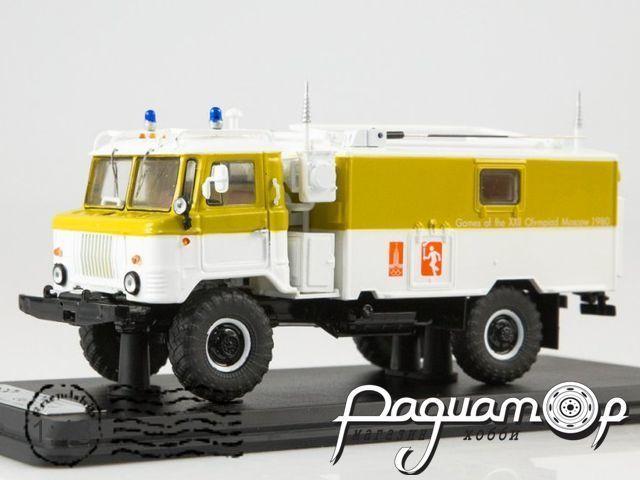 КШМ Р-142 (66) сопровождение олимпийского огня (1980) SSML021