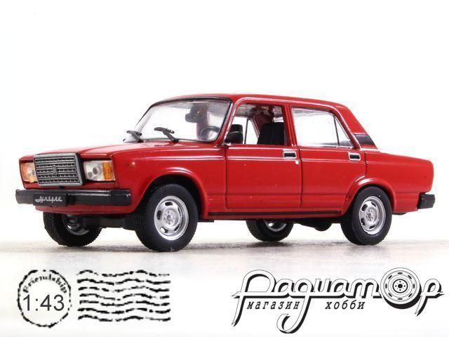 Автолегенды СССР и Соцстран №262, ВАЗ-2107 «Жигули» (1982)