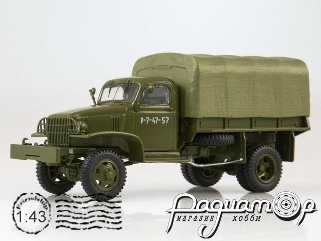 Chevrolet G7117 бортовой с тентом (1943) SSM1375