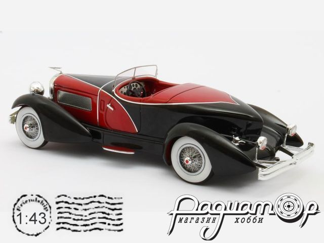 Duesenberg J SWB French True Speedster by Figoni №J-465-2509 (1931) MX50406-031