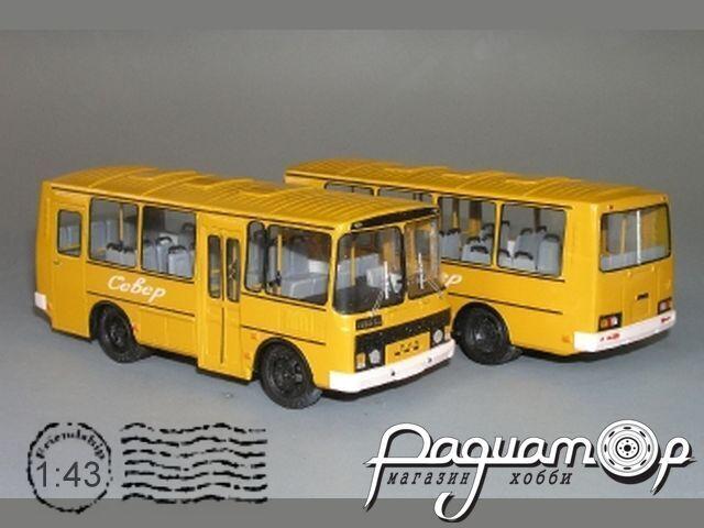 Сборная модель ПАЗ-32053 K3-68-2