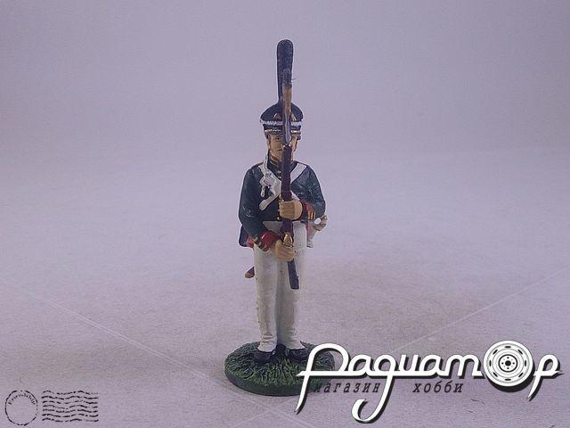 Гренадер Лейб-гвардии Измайловского полка в летней форме (1812) (I)