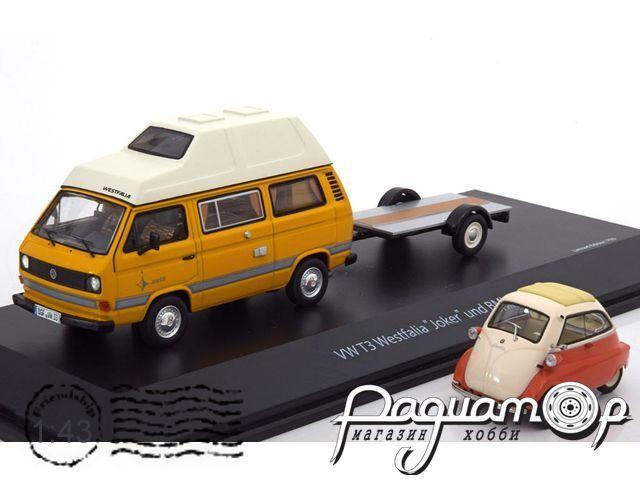 Volkswagen T3 Joker Camping Bus + BMW Isetta (1980) 03303