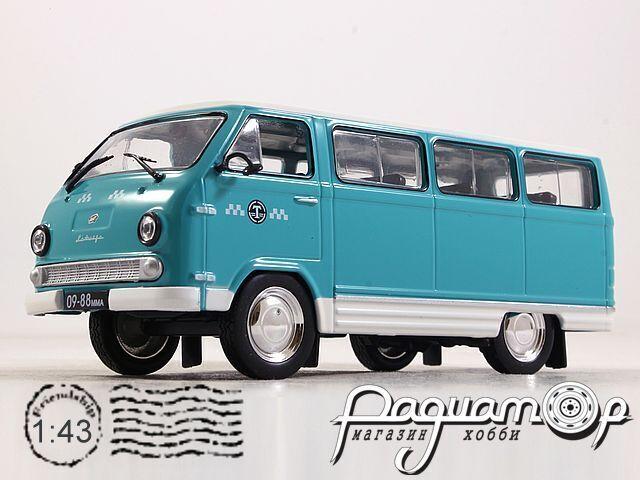 Автолегенды СССР Спецвыпуск-Такси СССР №2, РАФ-977ДМ «Латвия» Такси (1968)