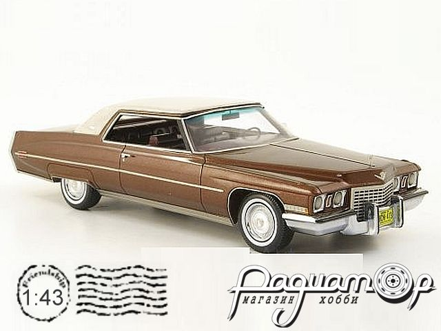 Cadillac Coupe deVille (1972) 44414