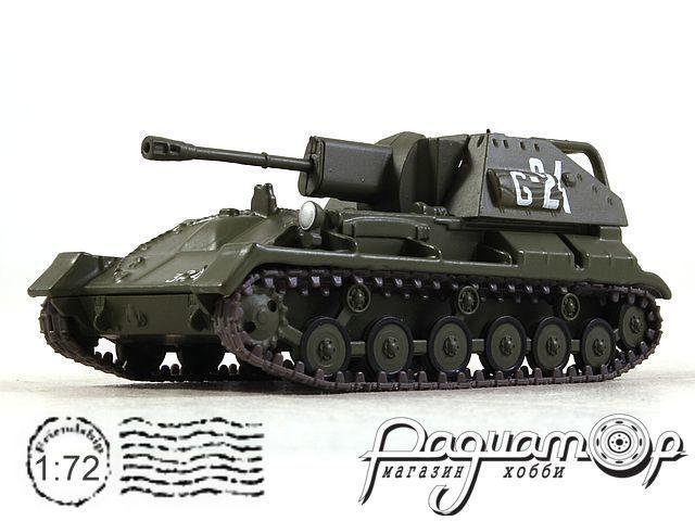 Русские танки №49, СУ-76М хаки (1942)