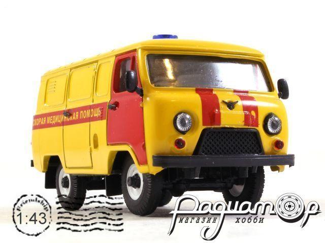 УАЗ-3741 Скорая Медицинская Помощь (1985) 12061