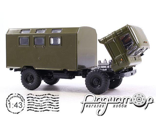 Легендарные Грузовики СССР №3, К-66 (1964)