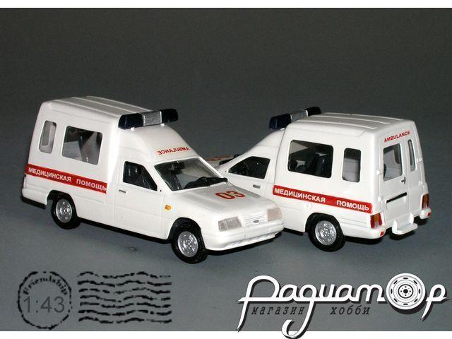 ИЖ-ЛуАЗ 2717-90 скорая помощь (1997) VZ-06.3