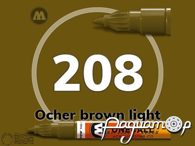 Маркер ONE4ALL 127HS-CO-208, Cветло-Коричневый (1,5мм) 127425