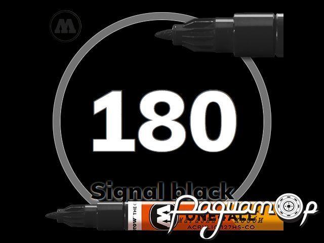 Маркер ONE4ALL 127HS-CO-180, черный (1,5мм) 127412