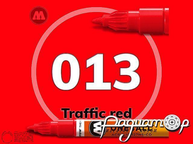 Маркер ONE4ALL 127HS-CO-013, красный (1,5мм) 127402