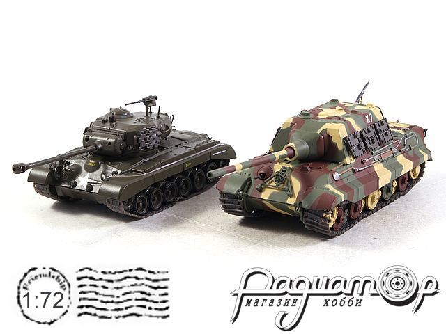 Набор The Battle of Remagen Germany 1945 (M26 Pershing vs Panzerjager Jagdtiger) T903