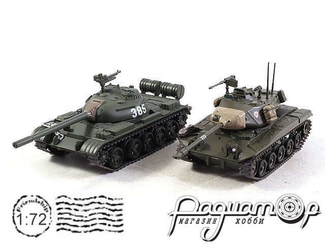 Набор The Battle of Dong Ha Vietnam 1972 (Type 59 vs M41 Walker Bulldog) T904