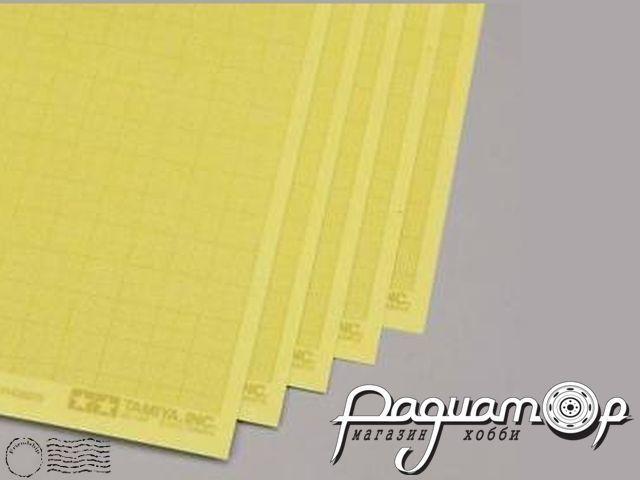 Самоклеящаяся маскирующая бумага c миллиметровой разметкой (5шт) 87129