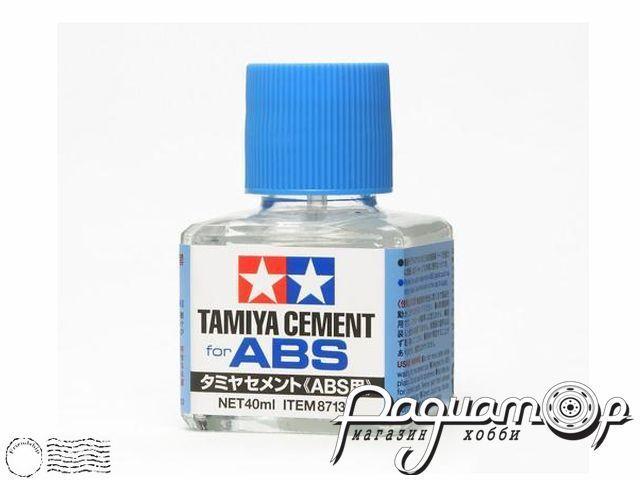 Клей для АБС-пластика, с кисточкой (40мл) 87137