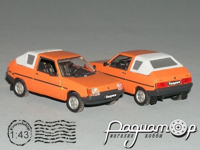 """ЗАЗ-1102 """"Таврия"""" Ландо закрытый (1998) PZ-84.1-Y"""
