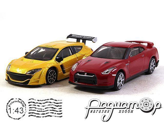 Набор Renault Megane + Nissan GT-R (2009) (I) 0299