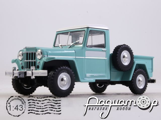 Ika Baqueano 1000 (Willys Jeep Truck) (1959) ARG25