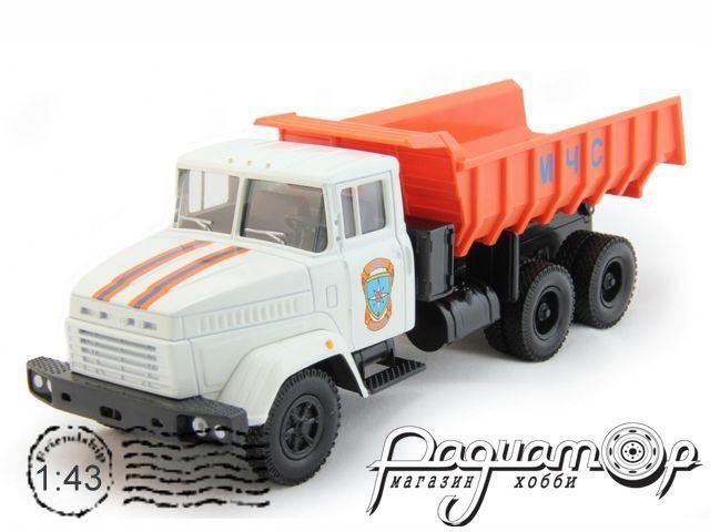 КРАЗ-6510 самосвал МЧС (1985) 65091