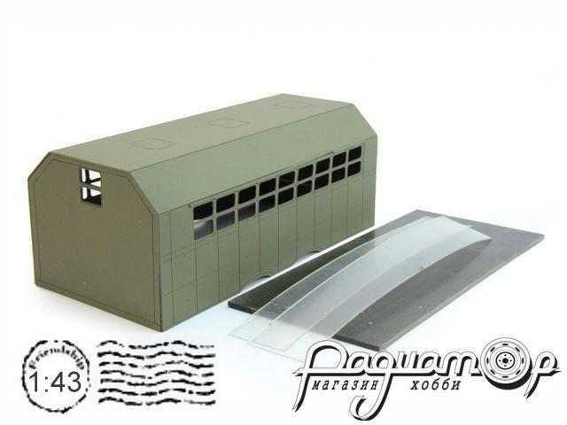 Надстройка Кузов унифицированный нормального габарита (КУНГ) для КрАЗ-257/260 MK023