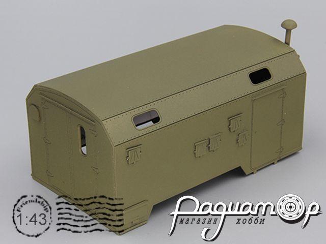 Надстройка Кузов унифицированный нормального габарита (КУНГ) К4320 (вариант 2) MK033