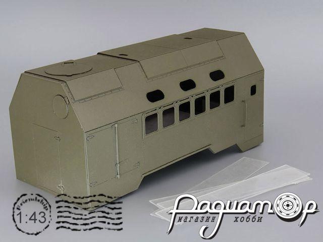 Надстройка АКДС-70 на шасси КРАЗ (вариант 1) MK057