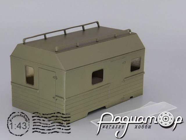 Надстройка Санитарный КУНГ для ГАЗ-66 MK059
