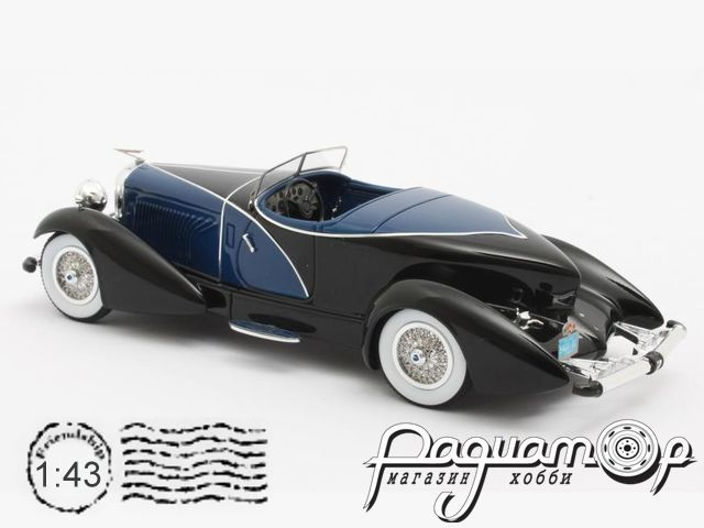 Duesenberg J SWB French True Speedster by Figoni №J-153-2178 (1931) MX50406-032