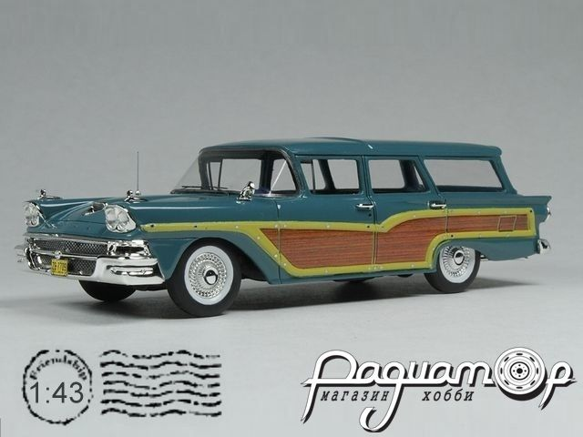 Ford USA Country Squire Station Wagon (1958) GC014A