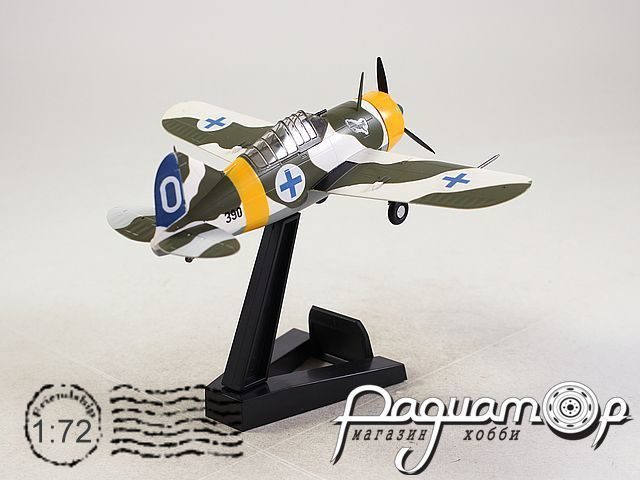 Bewster F2A Buffallo, Air Force 1/LeLv 24, Suulajarvi Finland (1939) 36382