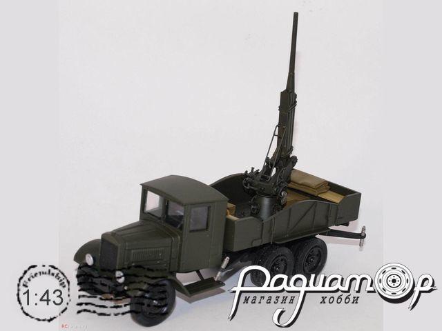 Набор для сборки Зенитное орудие К-3 на шасси ЯГ VM020