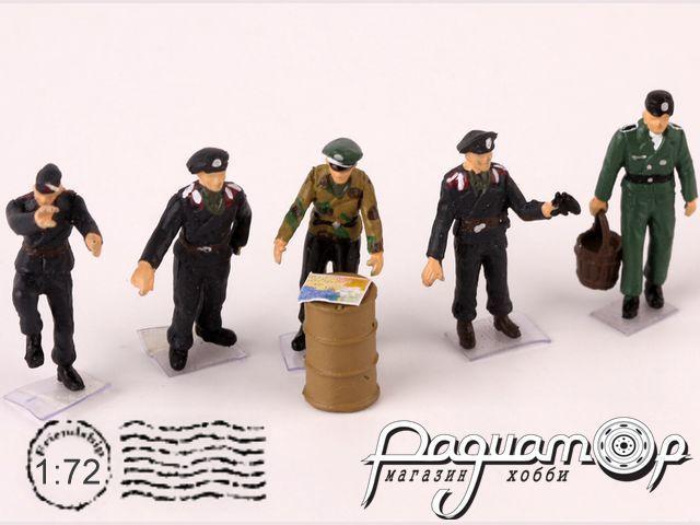 Набор фигурок Немецкие солдаты (5шт) P0411