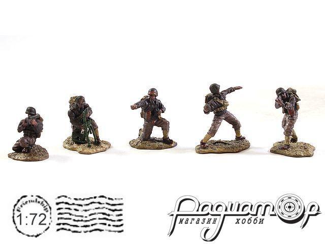 Набор фигурок Американские военные (5шт) 83099-3