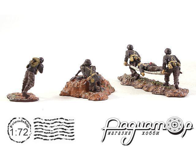 Набор фигурок Военные (5шт) 83099-2