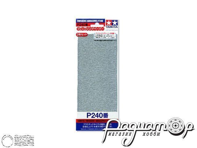 Наждачная бумага P240 (3шт) 87093